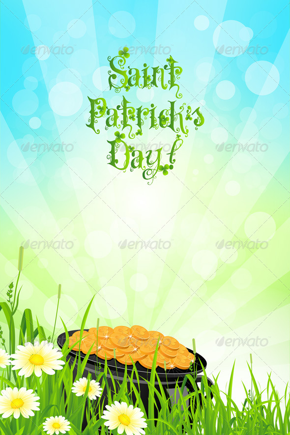GraphicRiver Saint Patricks Day Background 4032527