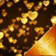 Gold Glitter Heart - VideoHive Item for Sale