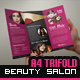 Beauty Salon - Tri-Fold Brochure - GraphicRiver Item for Sale