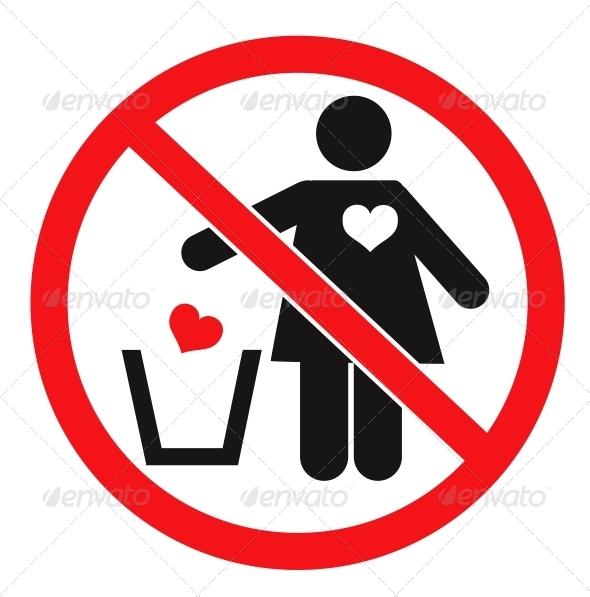 GraphicRiver Don t Love concept 4033352