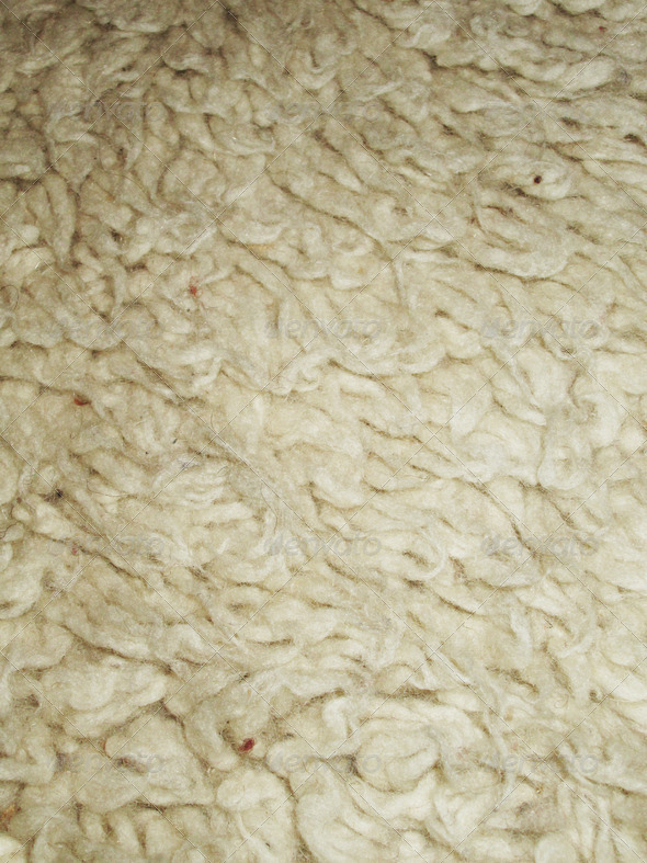 Wool in natural color 5 - Stock Photo - Images