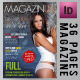 36 Pages Modern Magazine InDesign Template - GraphicRiver Item for Sale