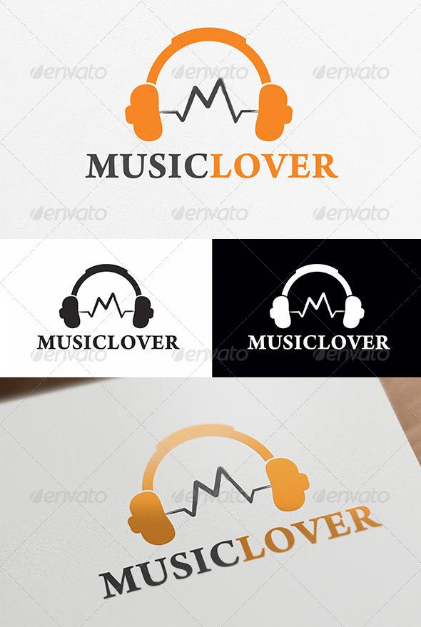 Music Lover Logo Template
