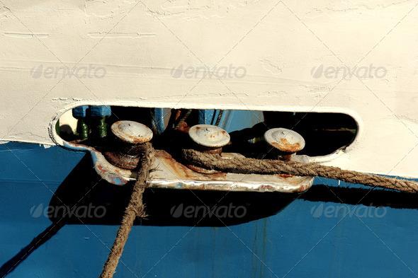 PhotoDune Ship ropes 4049415
