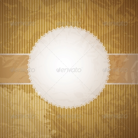 GraphicRiver Vector greeting golden card or cover Space for yo 4035027