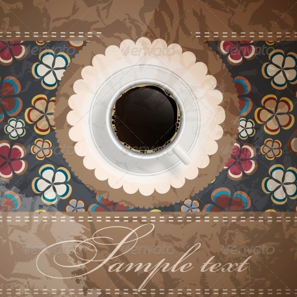 GraphicRiver coffee invitation background 4035316