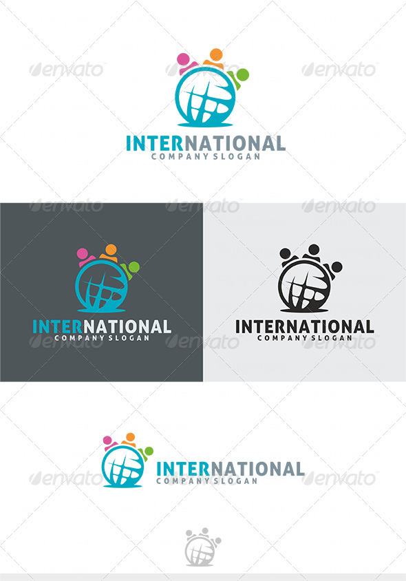 International Logo - Humans Logo Templates