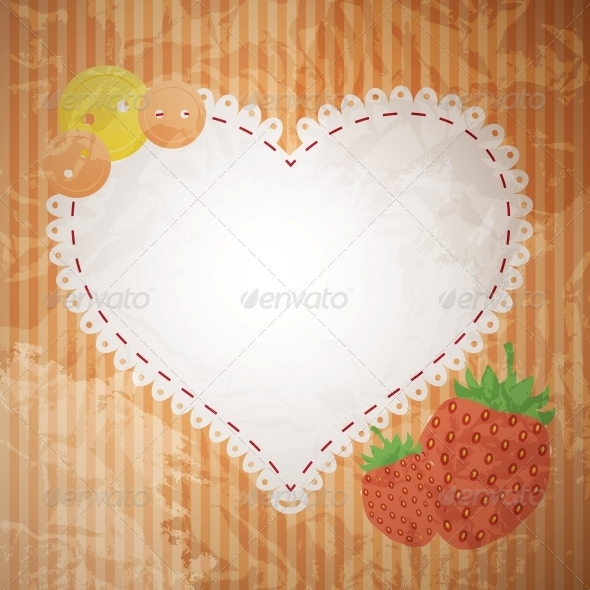 Valentine's Day Greeting Card - Backgrounds Decorative