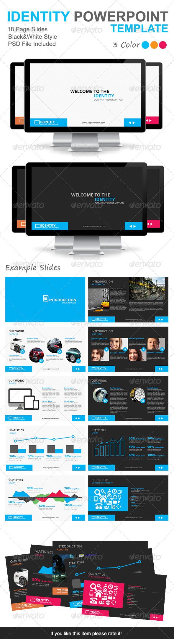 GraphicRiver Identity Presentation Template 4036069