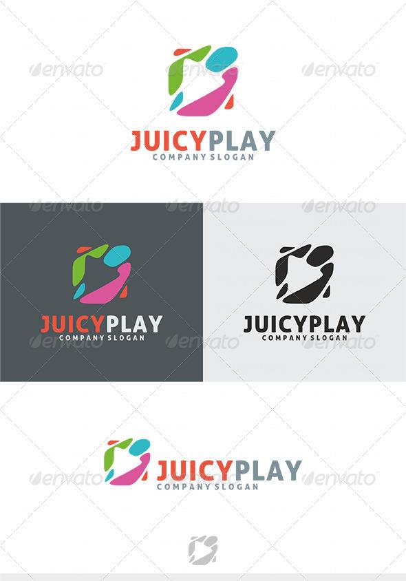 GraphicRiver Juicy Play Logo 4036969