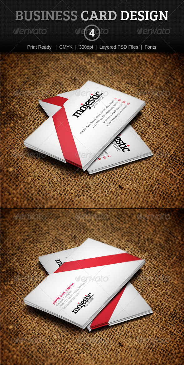 GraphicRiver Business Card Design 4 3909887
