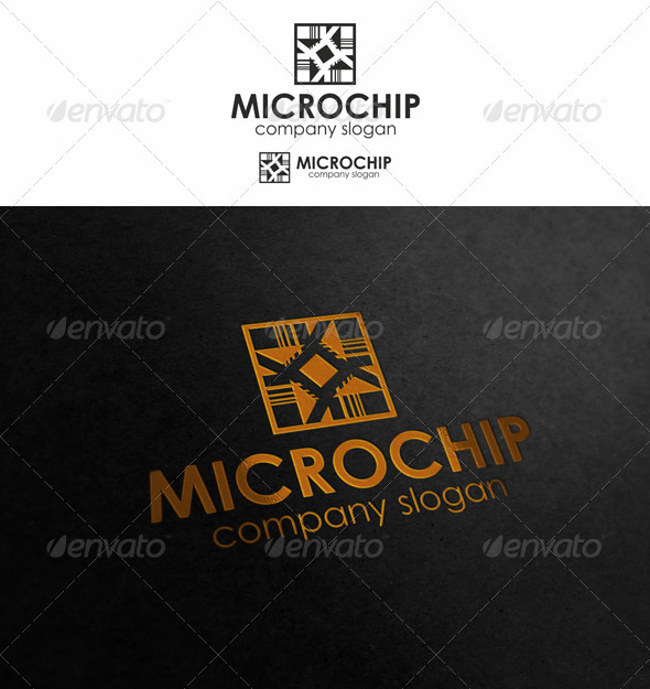 Microchip - Objects Logo Templates