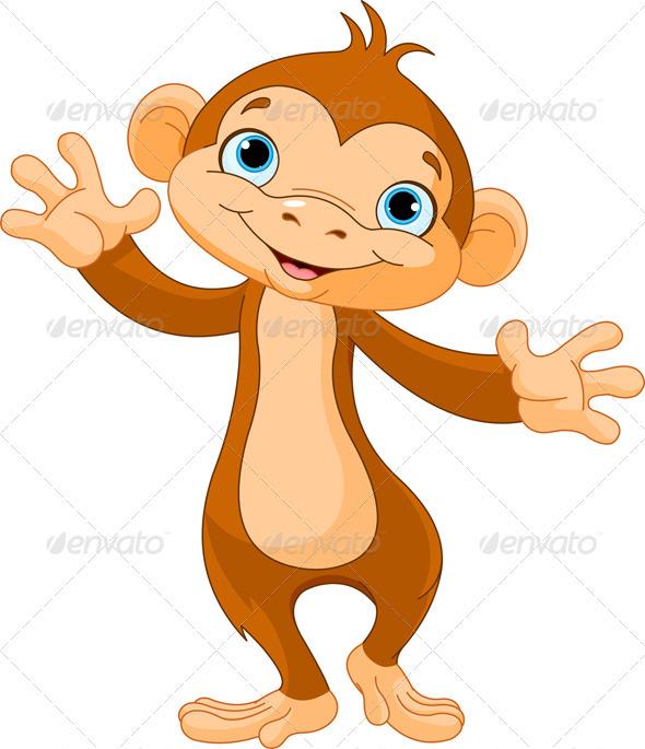 GraphicRiver Baby Monkey 4038020