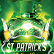 St. Patricks Flyer Template + Facebook Timeline - GraphicRiver Item for Sale