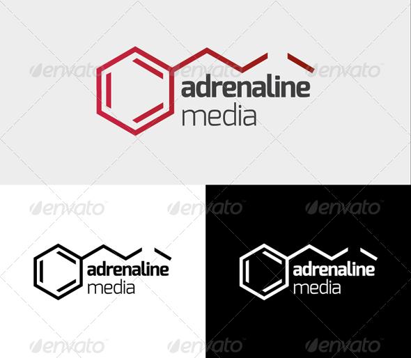 GraphicRiver Adrenaline Logo 3907180