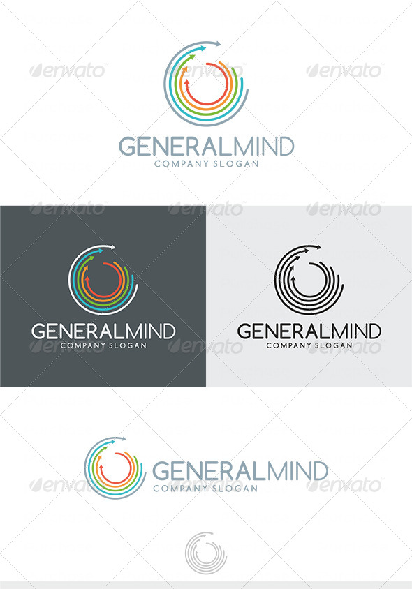 GraphicRiver General Mind Logo 4038321