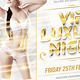 VIP Luxury Night Flyer - GraphicRiver Item for Sale