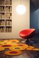Pop Art Style of Lounge Room