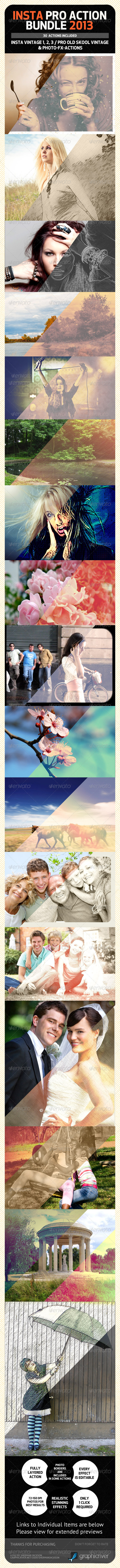 INSTA PRO Premium Action Bundle 2013 - Photo Effects Actions