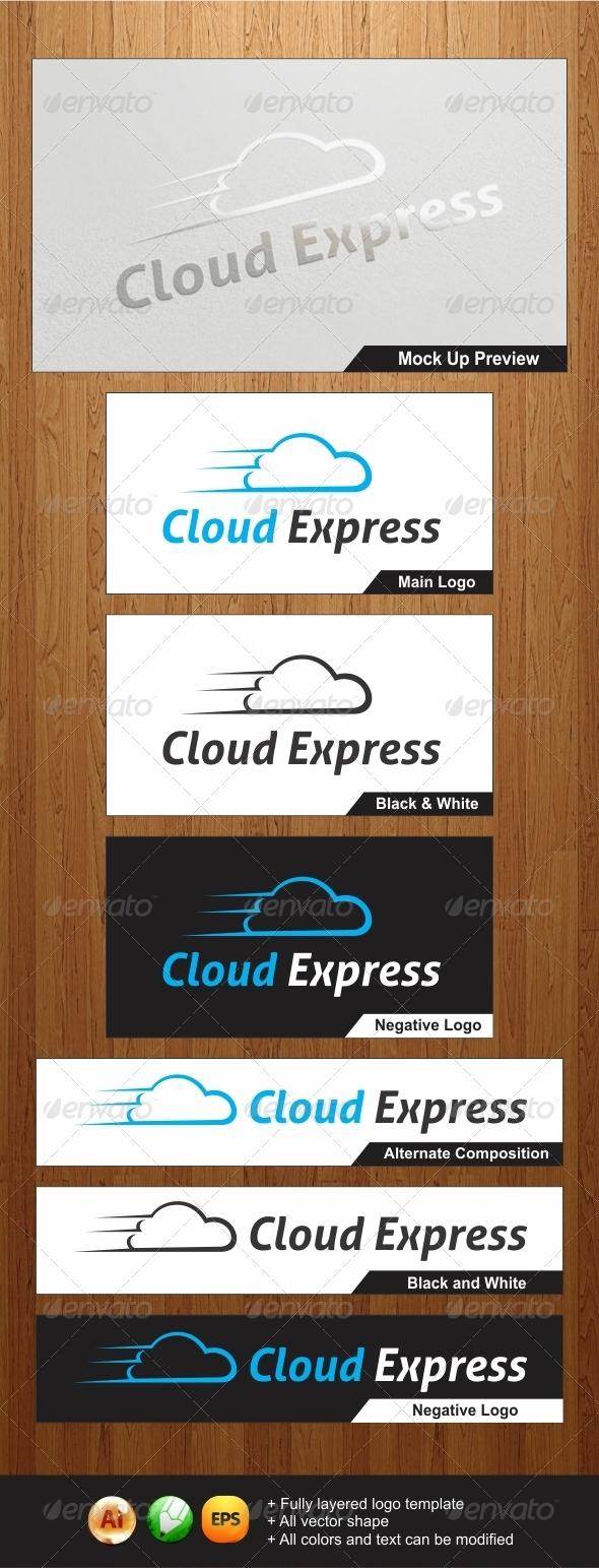 Cloud Express Logo - Objects Logo Templates