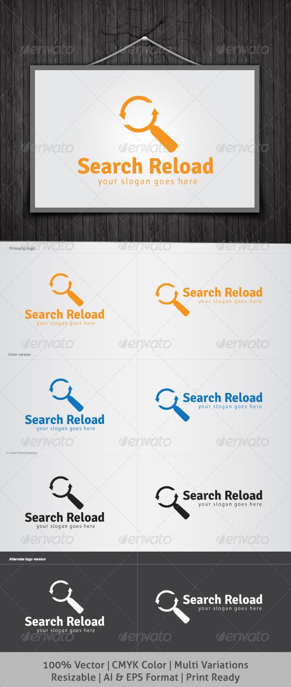 GraphicRiver Search Reload Logo 4040535