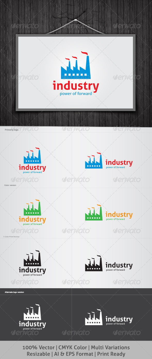 GraphicRiver Industry Logo 4041273