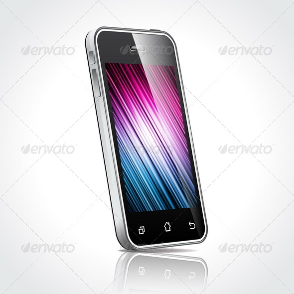 GraphicRiver Touchscreen Mobile Phone Devices 4041302