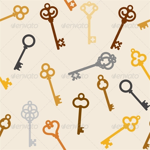 Antique Skeleton Keys