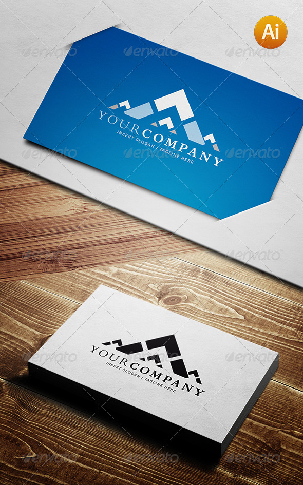 GraphicRiver Mountain Themed Logo Template 4041995