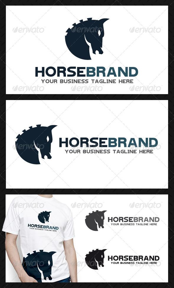 GraphicRiver Horse Brand Logo Template 3909020