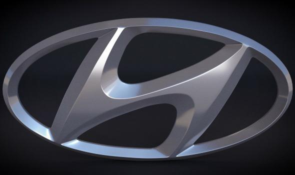 3DOcean Hyundai Logo 4040857