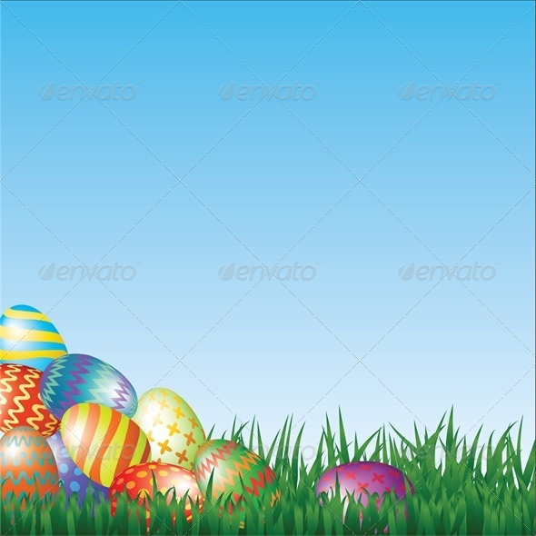 GraphicRiver Easter Eggs 4043006