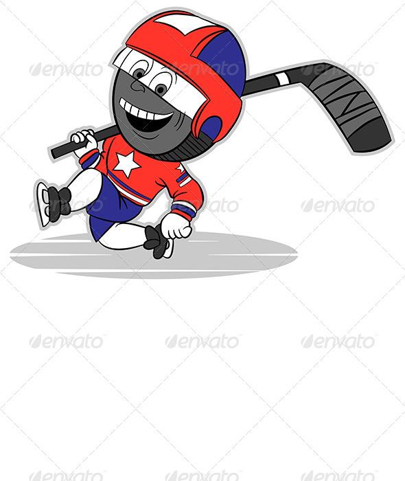 GraphicRiver Hockey Puck 4043114