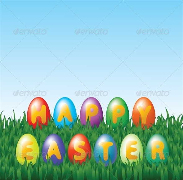 GraphicRiver Easter Eggs 4043194