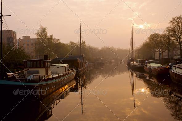 PhotoDune early morning in Groningen 4102118