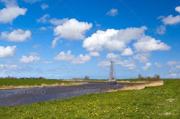 PhotoDune beautiful Dutch view 4102122