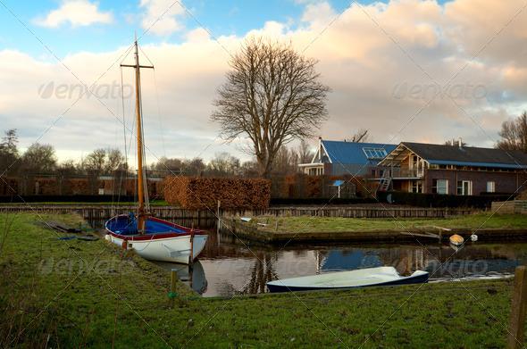 PhotoDune Dutch village 4102128