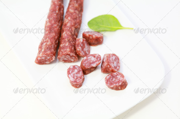 PhotoDune dry meat sausage 4102199
