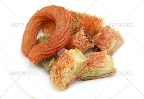 PhotoDune delicious Turkish dessert 4102245