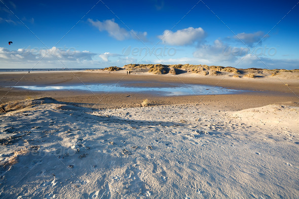 PhotoDune sand beach in Ijmuiden by North sea 4102284