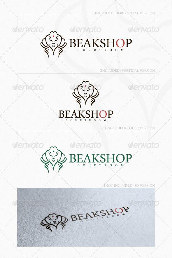 GraphicRiver Beakshop Logo 4043460