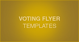 Voting Flyer Templates