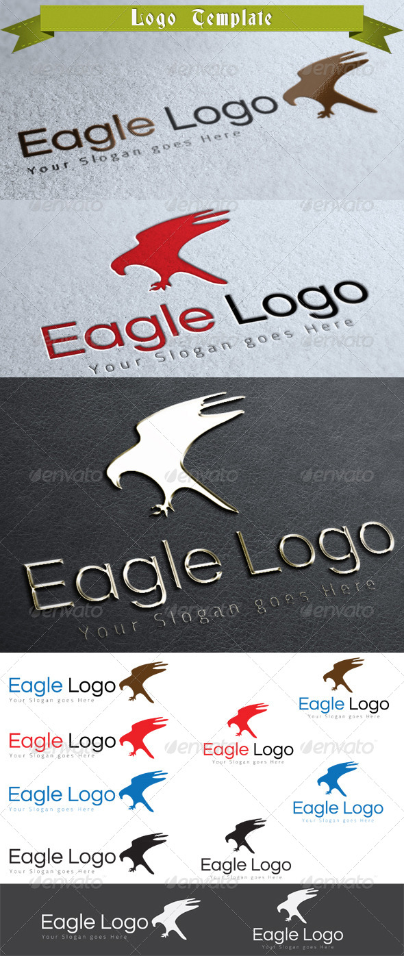 GraphicRiver Eagle Logo Template 3919261