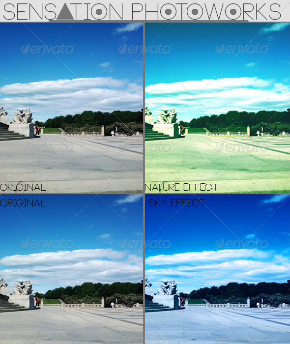 GraphicRiver Nature and Sky Photoshop Actions 4044879