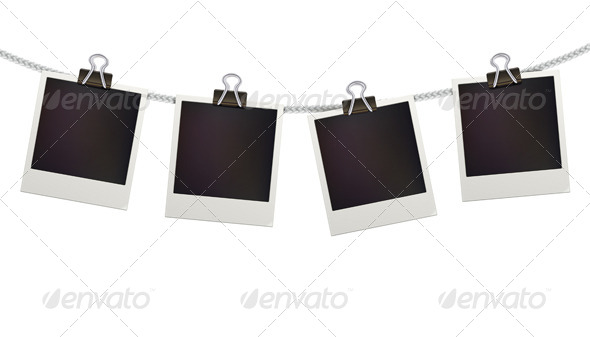 GraphicRiver Polaroid Photo Frames 4045134