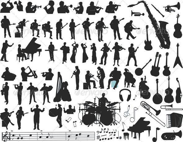 GraphicRiver Music Vector 4045141