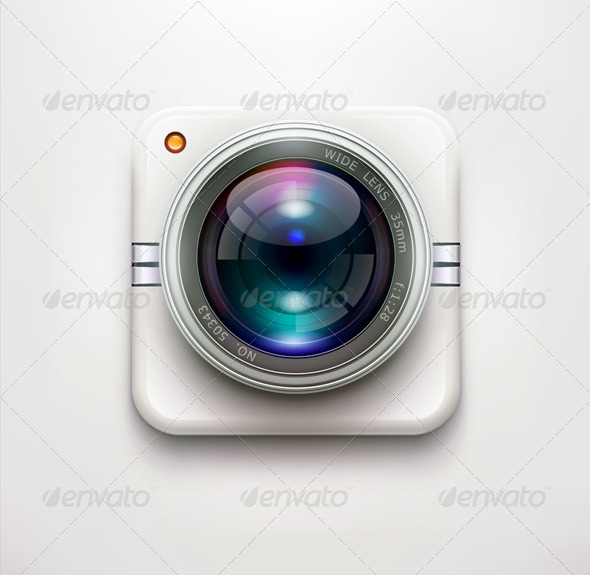GraphicRiver Security Camera Icon 4045468