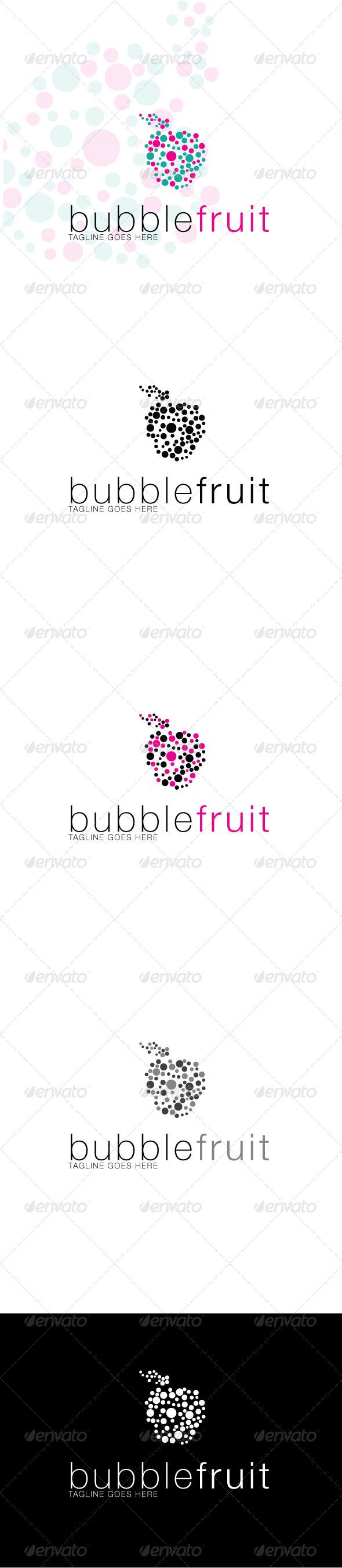GraphicRiver Bubblefruit Logo 3905238
