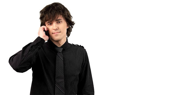VideoHive Young Man Talking On Mobile Phone 4045941