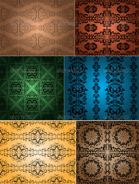 GraphicRiver vintage wallpapers 4046331
